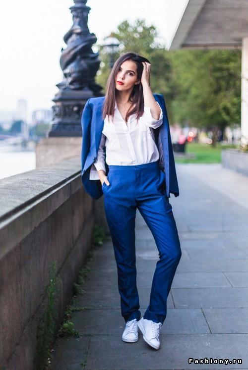 Костюмный шик: 8 деловых костюмов с брюками