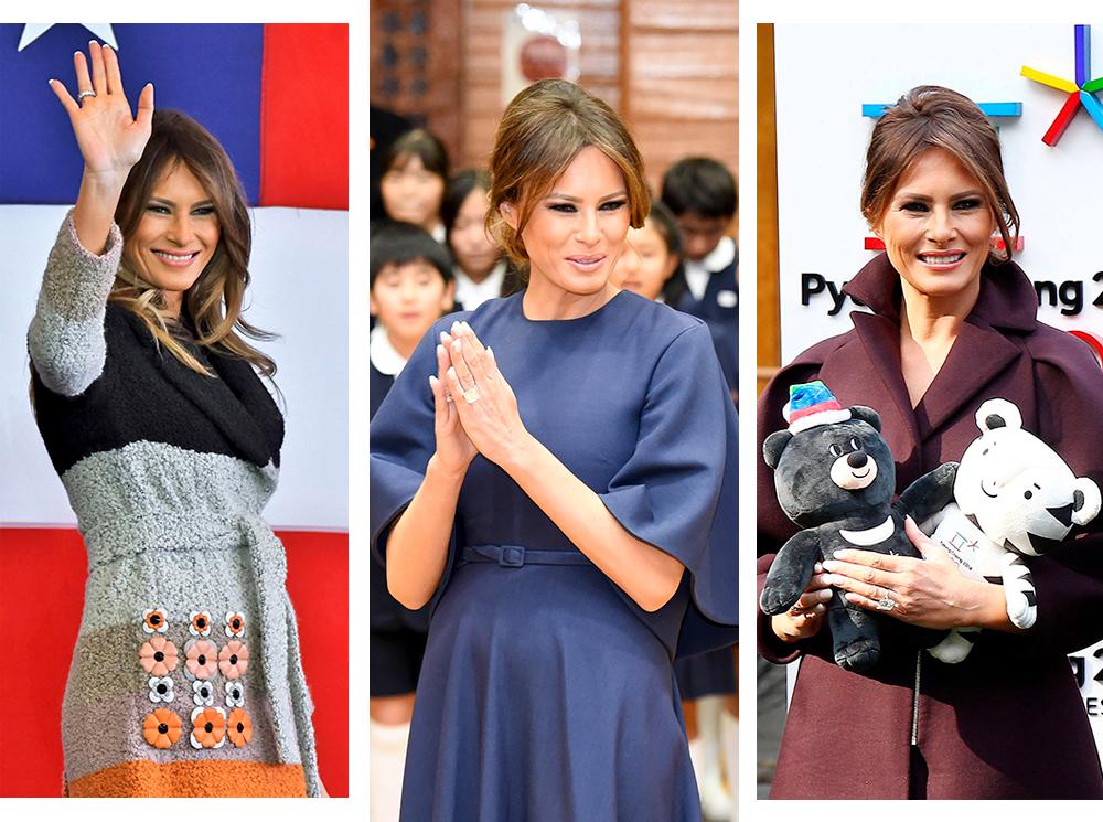 Сколько стоят образы Мелании Трамп: 6-дневная смета с азиатского тура