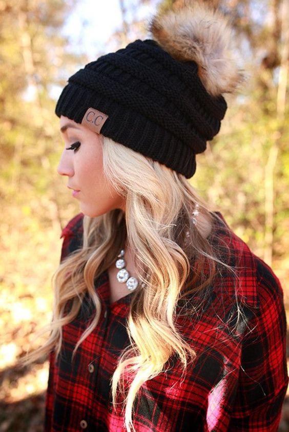Как уложить волосы стильно и красиво под шапочку бини: 10 модных идей