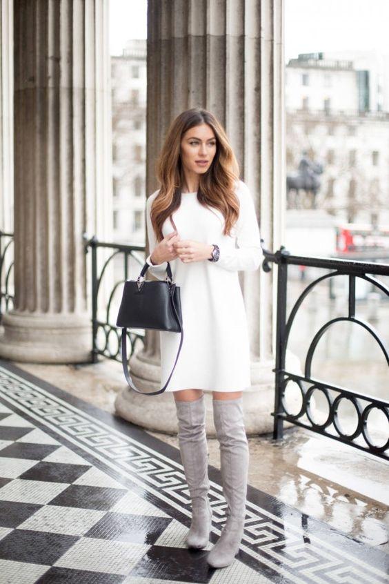 Соблазнительное платье-кофта: 10 горячих образов для этой осени