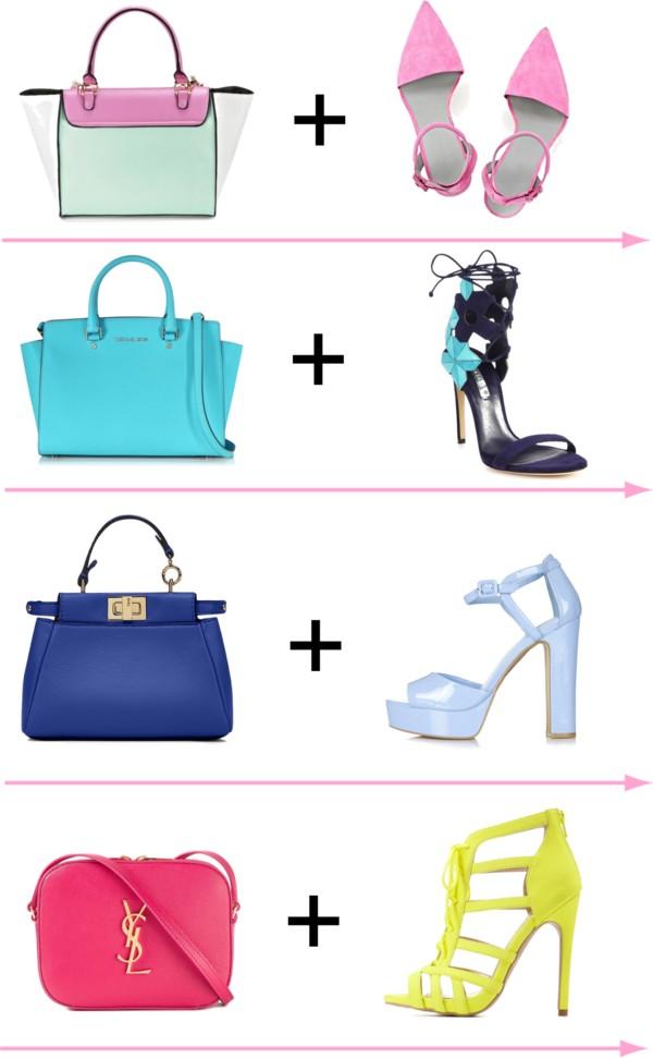 Как сочетать сумку и обувь: 6 тенденций этого сезона
