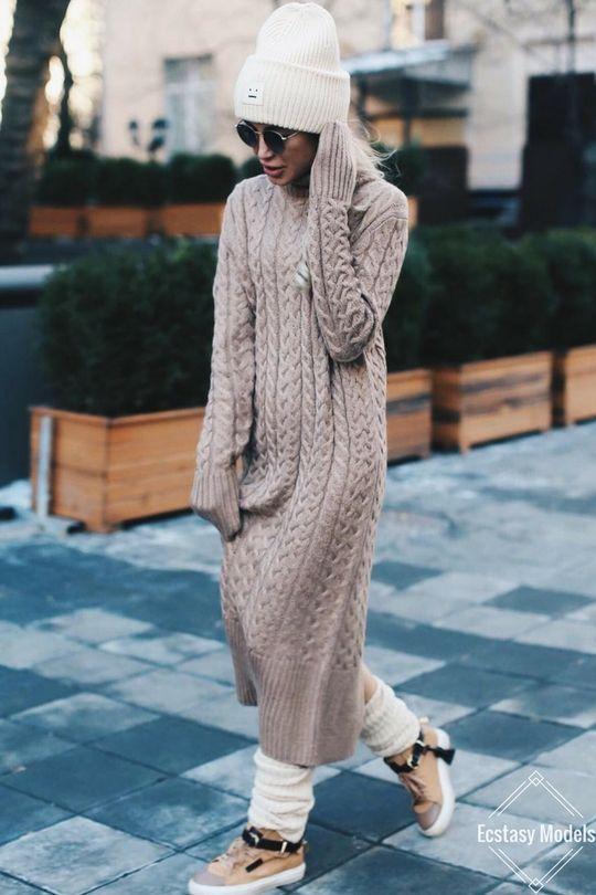 Время утепляться: 6 удачных платьев для холодного времени года