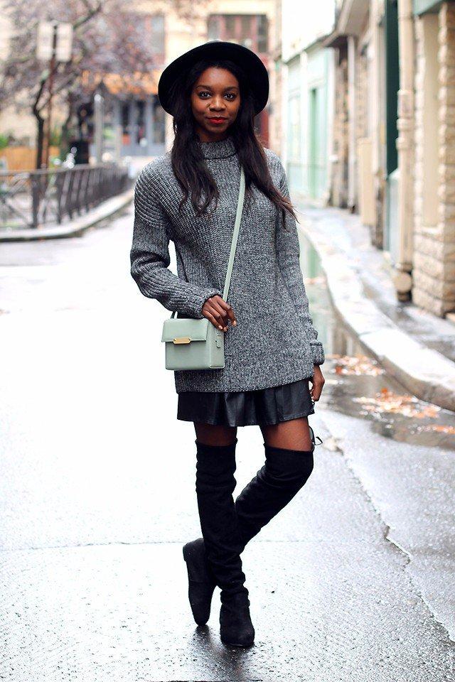 Высокая мода: 10 ультра-стильных образов с ботфортами