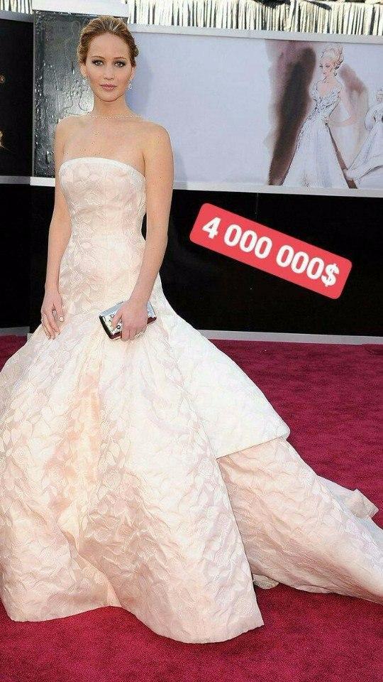 Они стоят состояние: ТОП – 8 самых дорогих «звездных» платьев