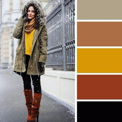 Готовая fashion-палитра: 6 эффектных сочетаний цветов на зиму