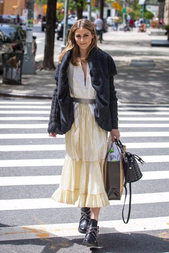 В ритме трендов: 8 образов от знатной модницы Оливии Палермо