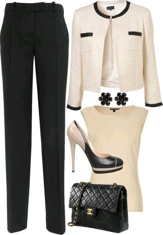 Брючные вариации: 8 образов в деловом стиле для стильных женщин