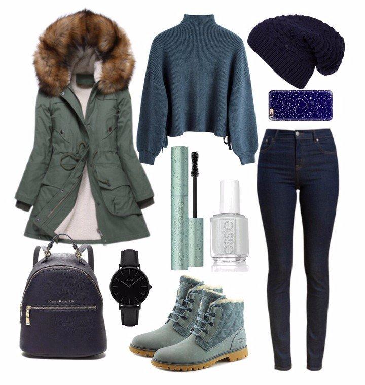 Зима в стиле Casual: 12 модных образов на каждый день