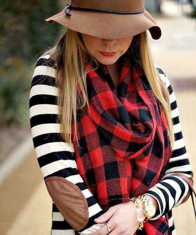 Как красиво повязать шарф: 8 способов в модных образах