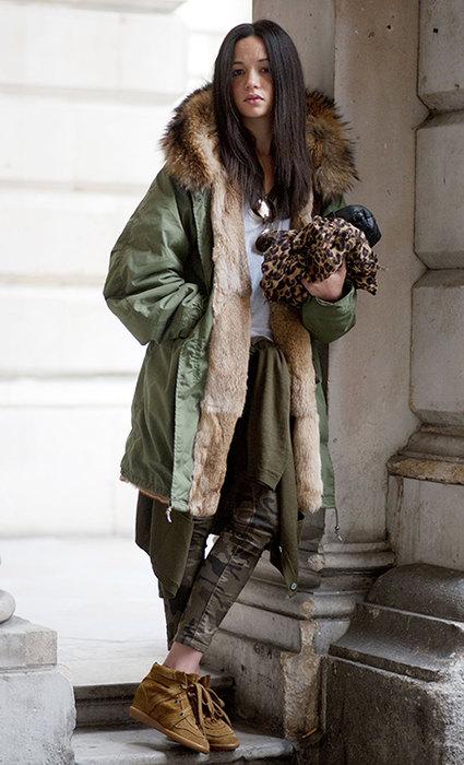 С чем носить пальто, куртрку и дубленку: 12 стильных идей