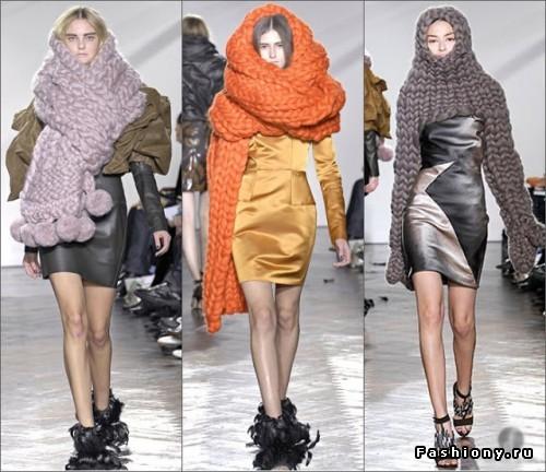 Как создать теплый образ: 12 модных сочетаний с вязанными аксессуарами