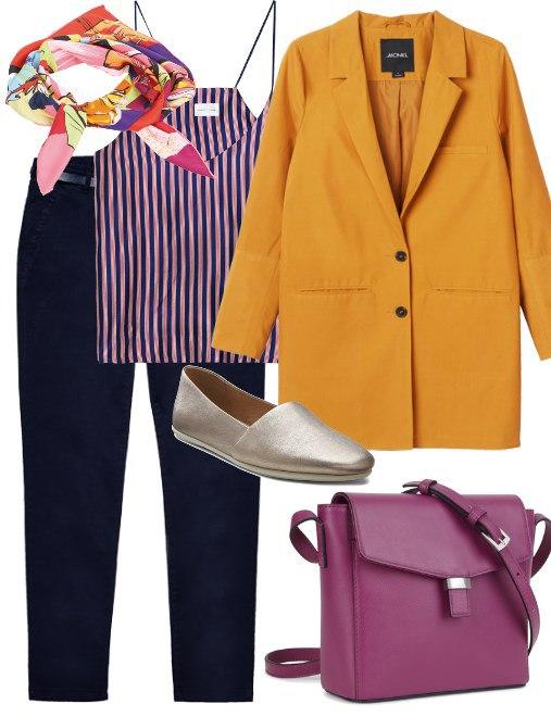 Как стильно одеваться на работу: 8 нескучных образов для офиса