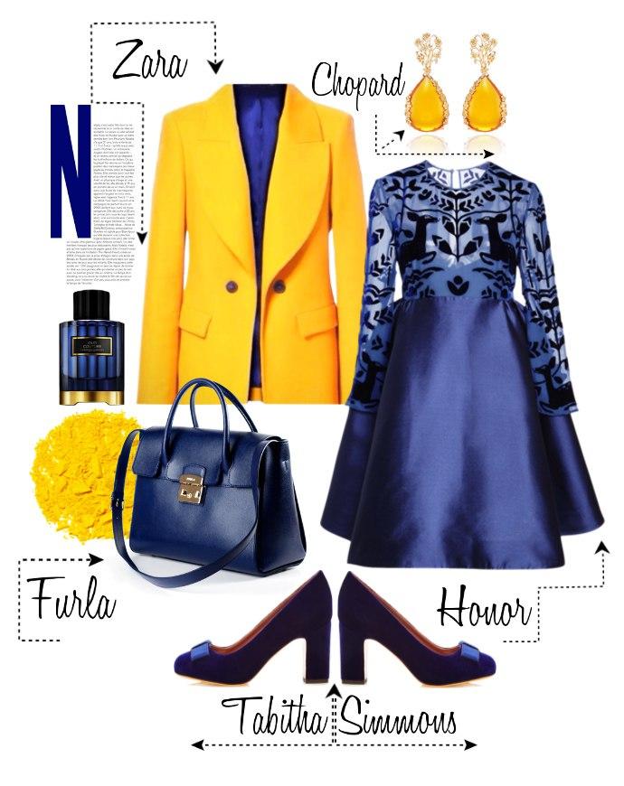 Синий иней: 7 идей, как создать нарядный образ с синим платьем