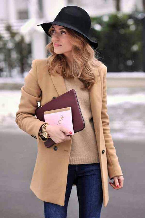 С чем носить шляпу: 6 модных вариантов для осени