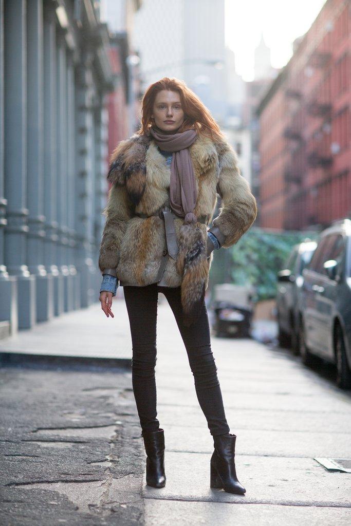 Шуба в зимнем гардеробе: 7 идей для стильных образов