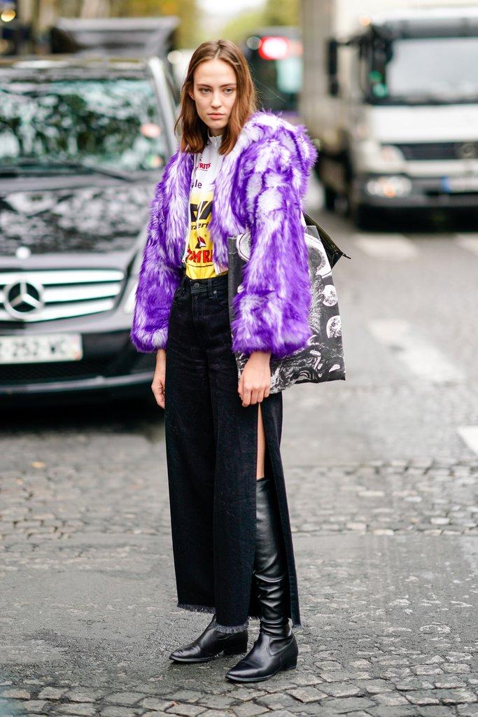 В свете ультрафиолета: 7 идей, как носить самый модный цвет 2018 года