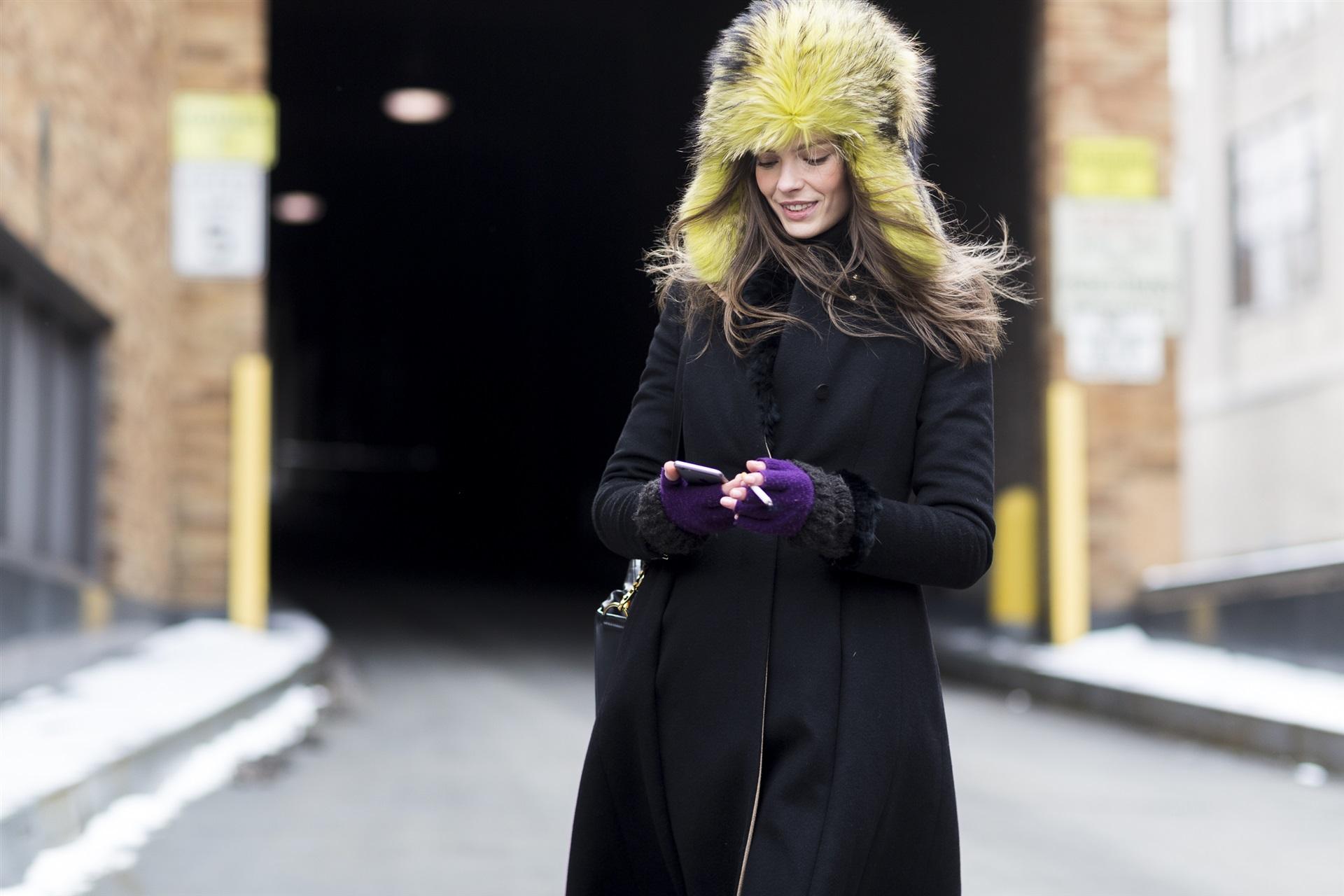 С чем носить шапку-ушанку: 7 полезных советов для повседневных образов
