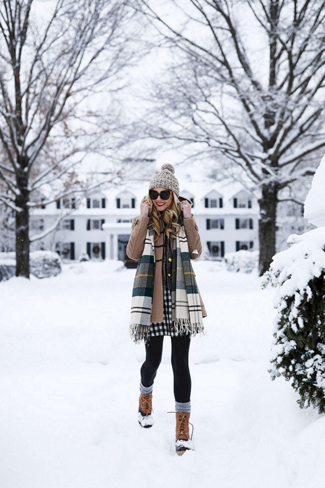 В теплоте, да на стиле: 7 полезных советов для самой снежной погоды