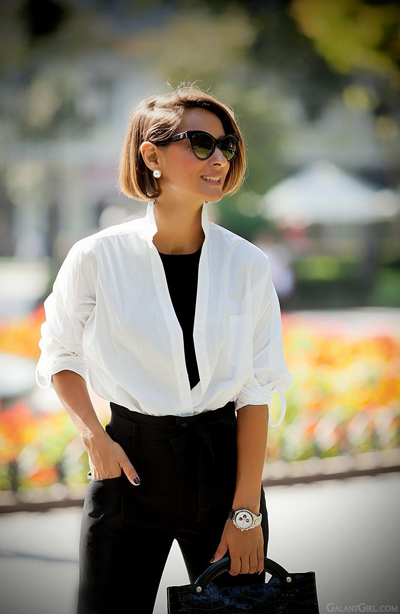 Белая рубашка: 4 главных тенденции на 2018 год