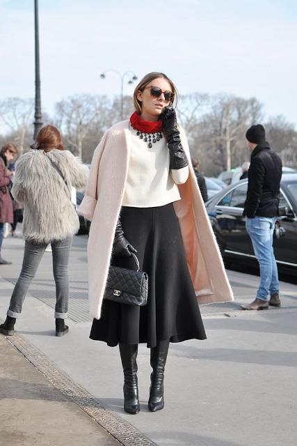 Как носить пальто без воротника: 7 способов на все случаи жизни