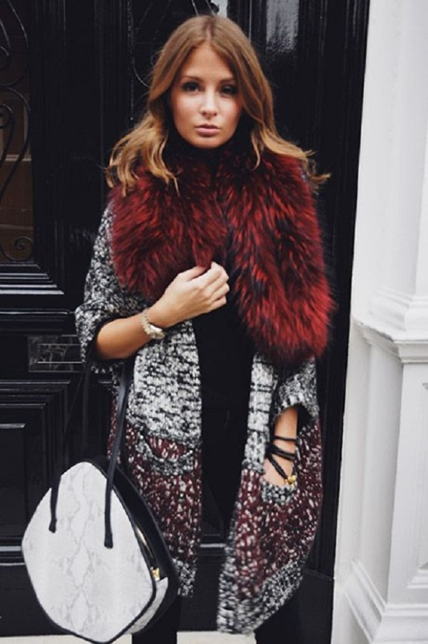 Повседневный шик: 6 примеров, как носить верхнюю одежду с мехом