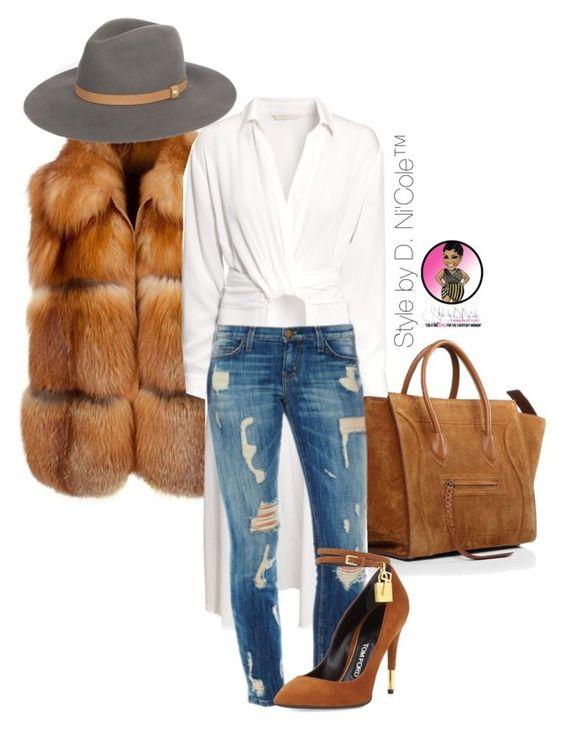 С чем носить меховую жилетку: 7 стильных сетов на любой вкус