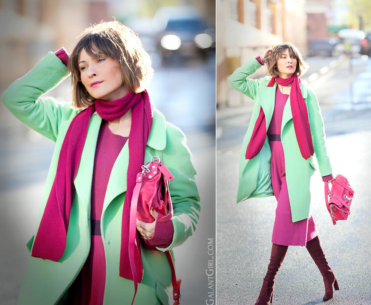 Цветные ботфорты: 10 ярких идей для снежной зимы
