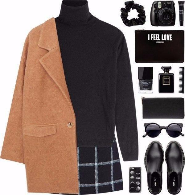 Пальто на все случаи жизни: 6 разных образов с одной вещью