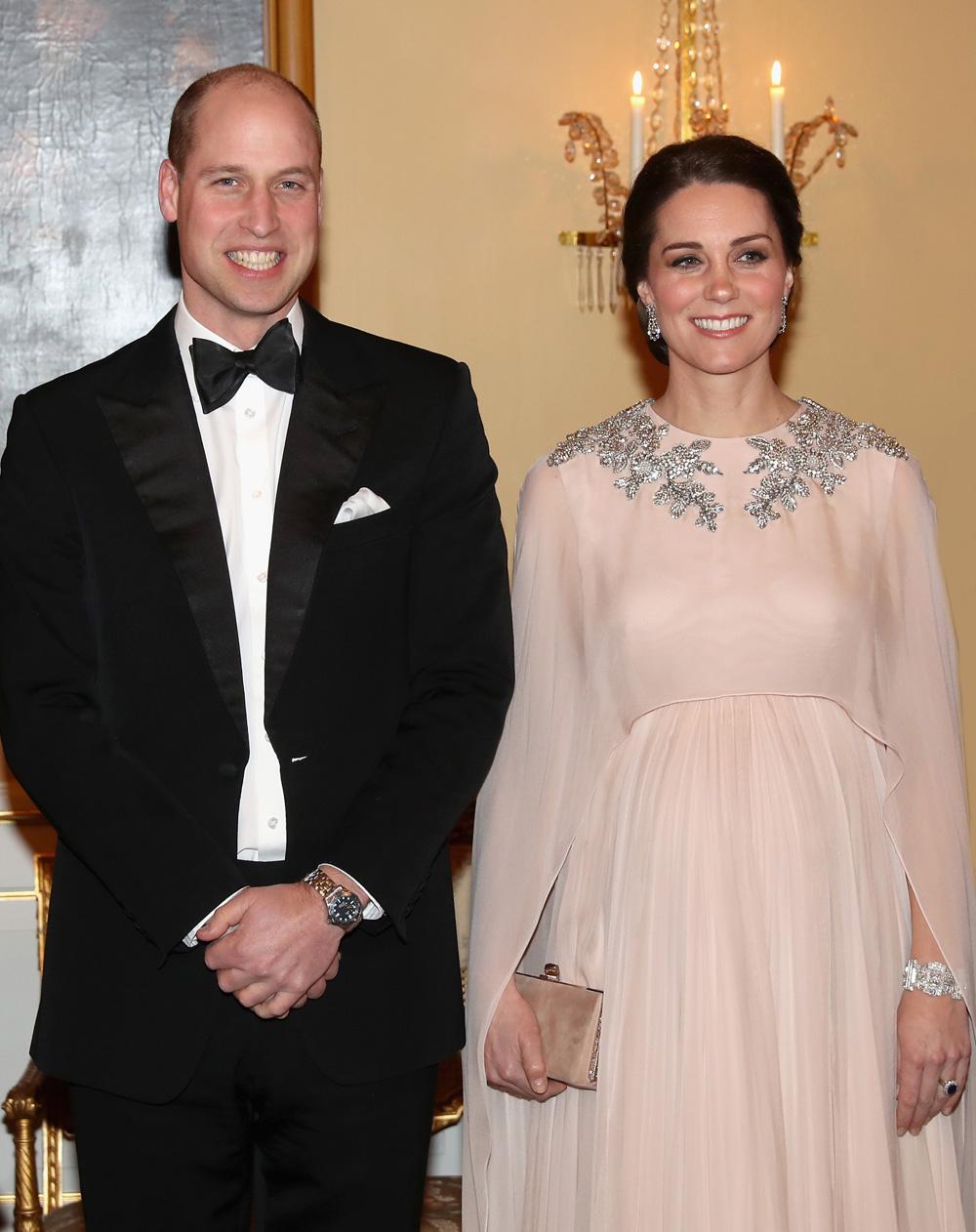 Не герцогиня, а принцесса: сказочный наряд Кейт Миддлтон на приеме в Осло
