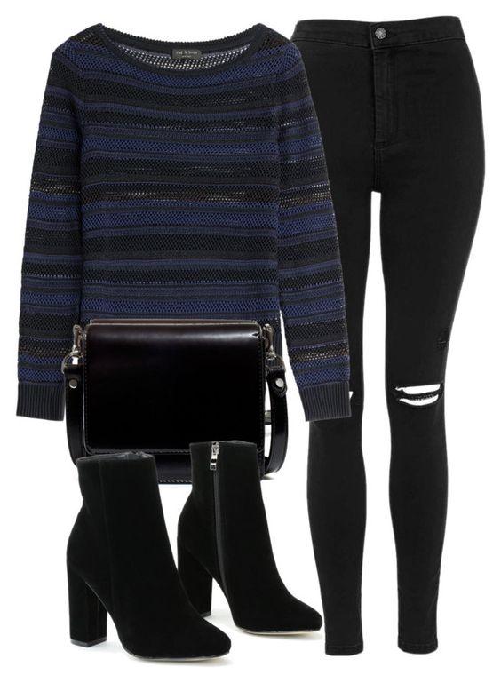 Как носить стильно черные скинни: 9 примеров не как у всех