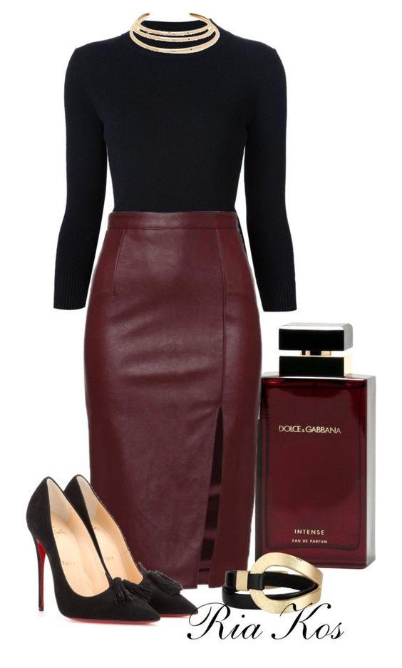 Уроки стиля: 7 способов, как носить кожаную юбку-миди и быть на высоте