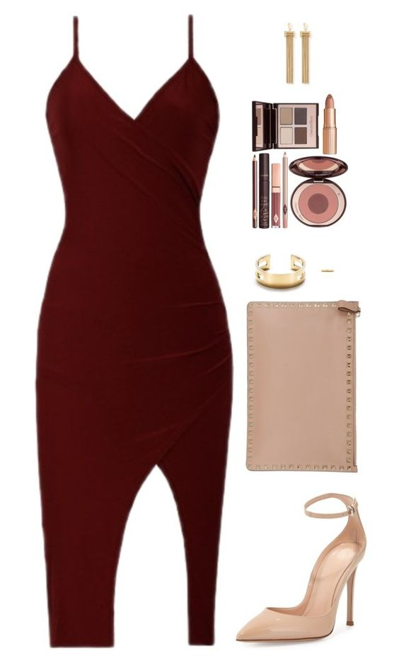 Шикарные образы в цвете бордо: 12 вариантов для тех, кто хочет большего