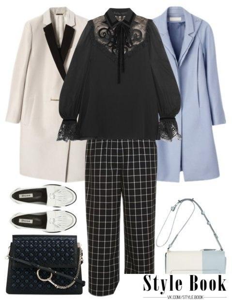 Как носить черный — весной: 6 модных сетов на заметку модницам