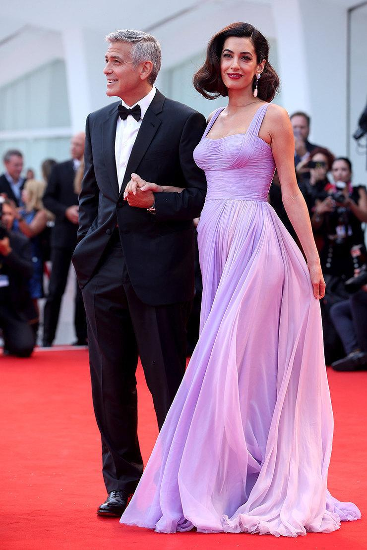 Укрощение строптивого: 10 образов Амаль, которые помогли очаровать Джорджа Клуни