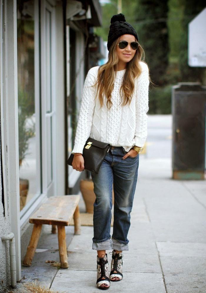 Вечный тренд: 7 доказательств, что белый свитер - идеальная вещь