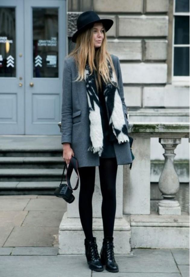 Смело в серый: 14 стильных образов на любой вкус