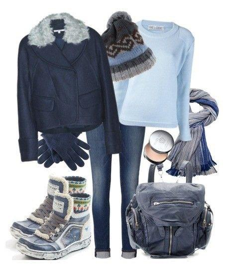 В теплоте, да на стиле: 7 комплектов, которые поднимут настроение в холода