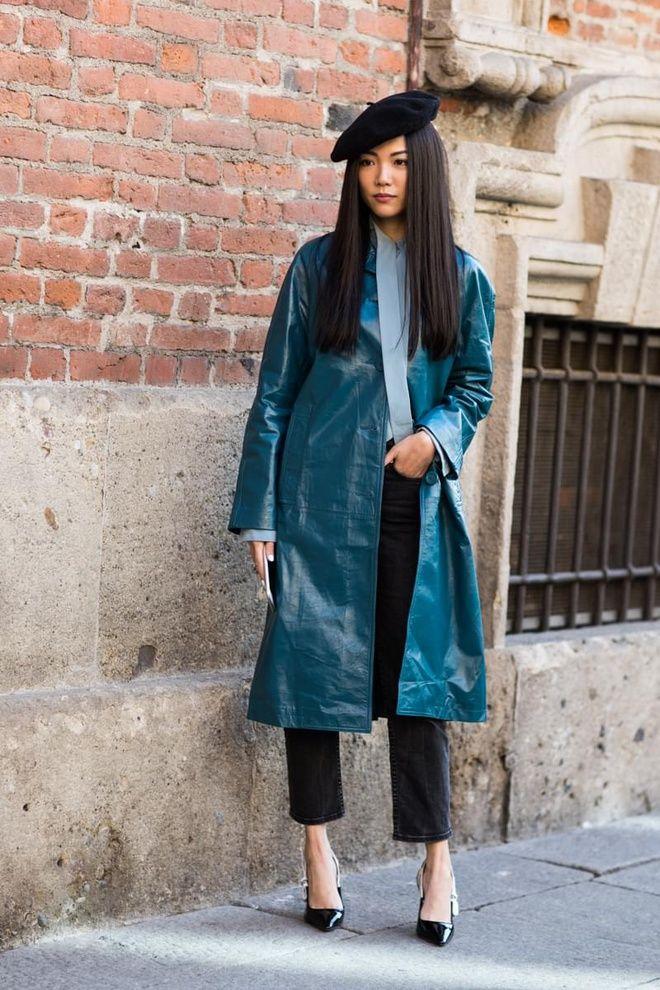 Модные детали: 7 стильных образов с беретом