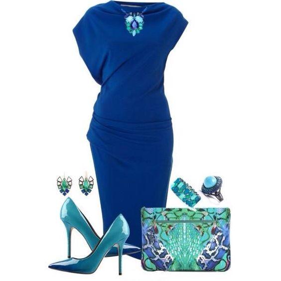 По волнам, по морям: 11 идей, как носить синий цвет изысканно и со вкусом