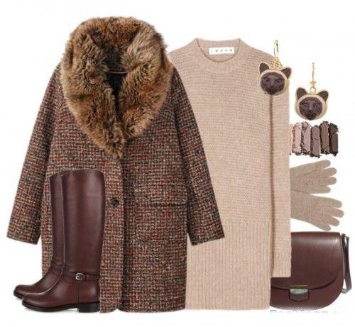 Платье-свитер: 5 идей, как превратить практичность в элегантность