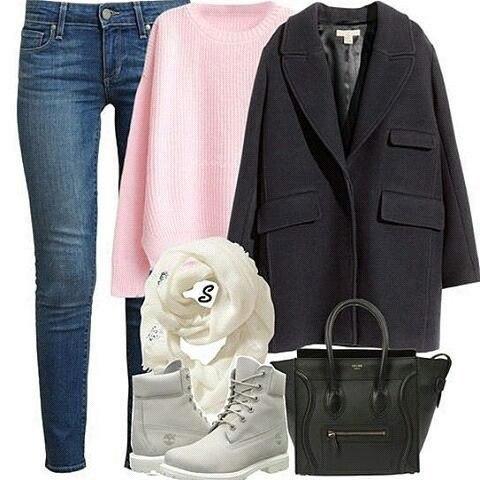 Когда пальто располагает к комфорту: 6 стильных и удобных сетов