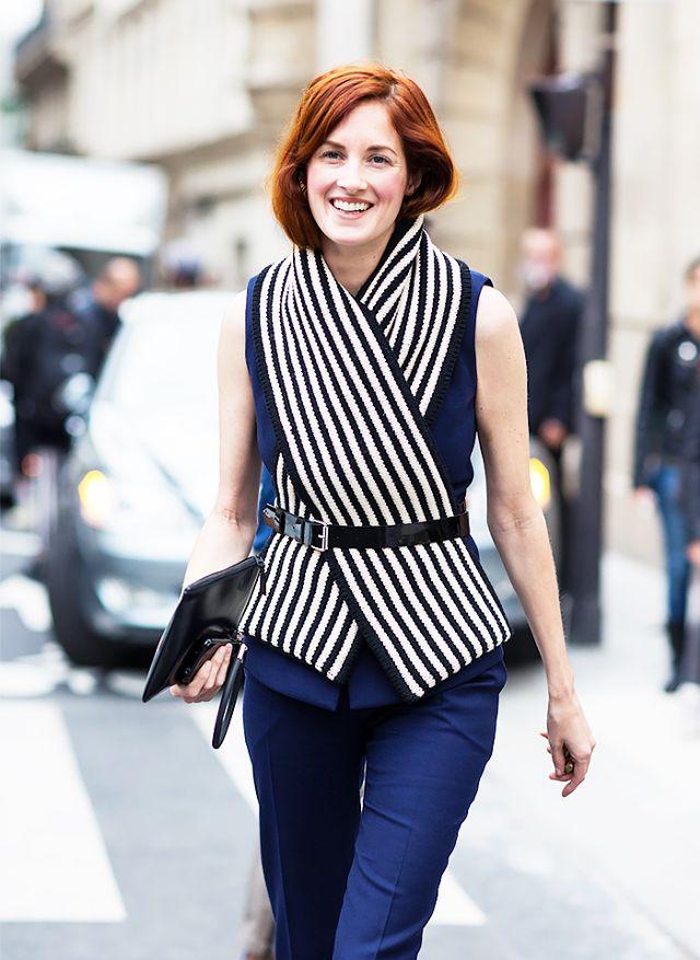 Гениальный способ — носить шарф этой весной: 10 стильных примеров