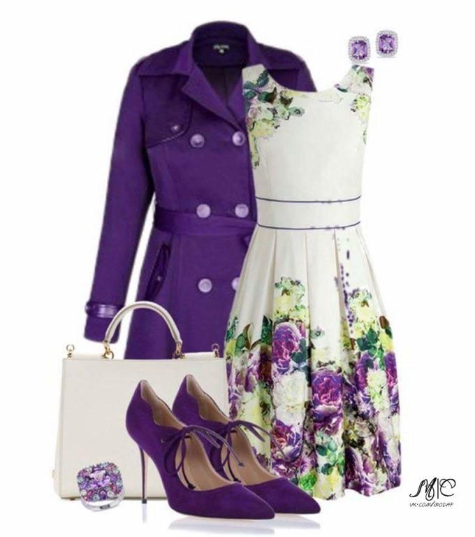 Как составить идеальную пару: 6 образов с пальто и платьем