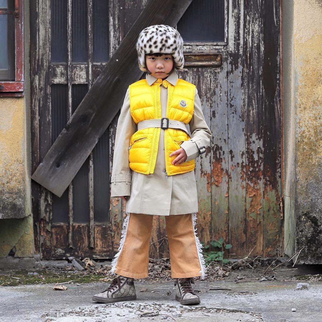 Самый стильный ребенок планеты: девочка в 7 лет взорвала все соцсети
