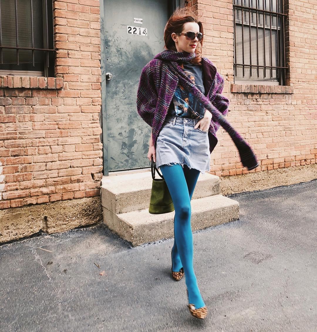 Как носить пестрые вещи и не быть петуньей: 12 модных примеров