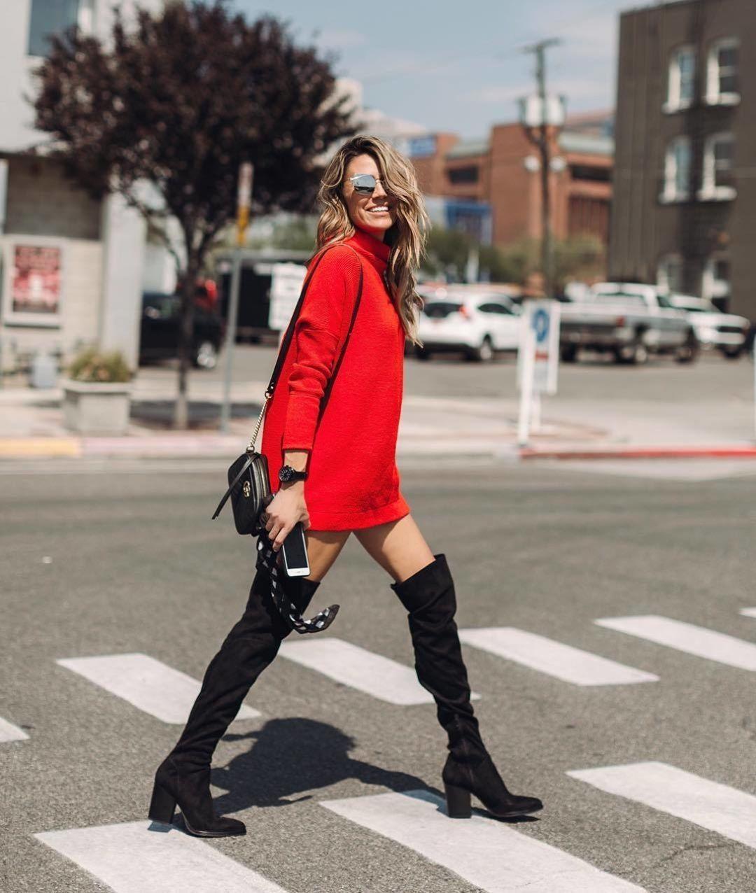 Вязаное платье: как подобрать самый теплый и женственный тренд