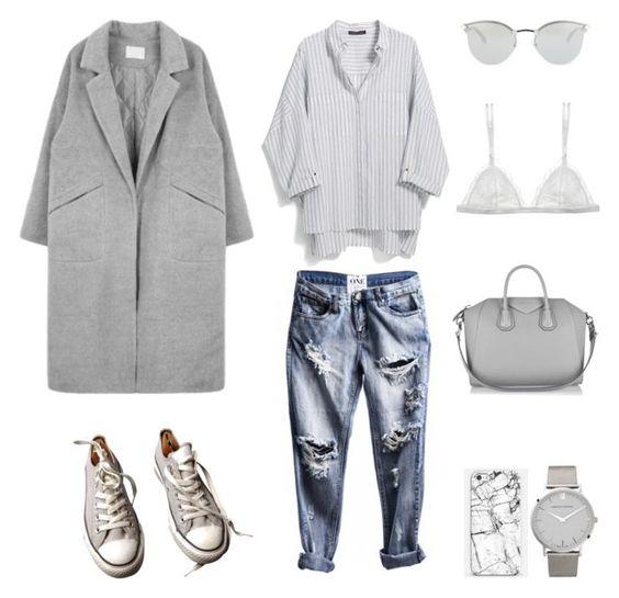 Новый серый: 8 идей, как носить пальто каждый день в разных стилях