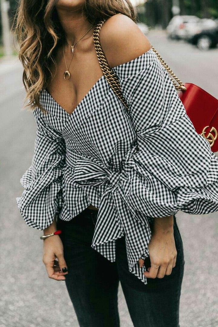 Все дело в блузе: 6 способов подчеркнуть свою оригинальность
