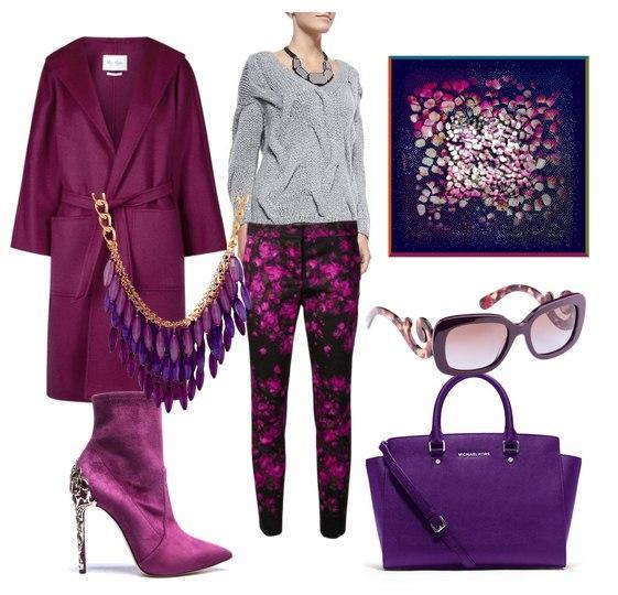 Модное решение: 7 весенних сетов в трендовом цвете ultra violet