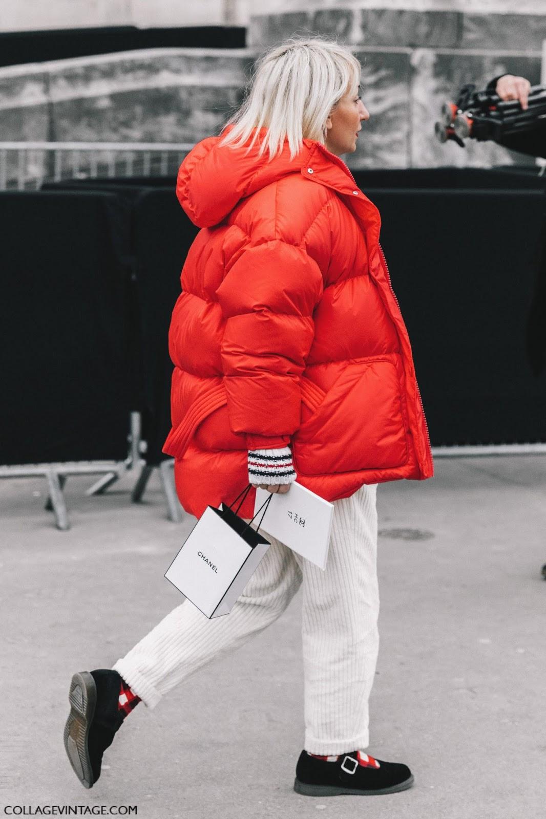 Модная революция: 6 стильных образов с пуховиком красного цвета